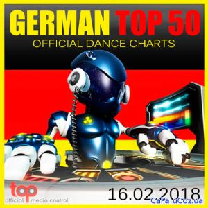 German Top 50 Official Dance Charts 16.02.2018 (2018)