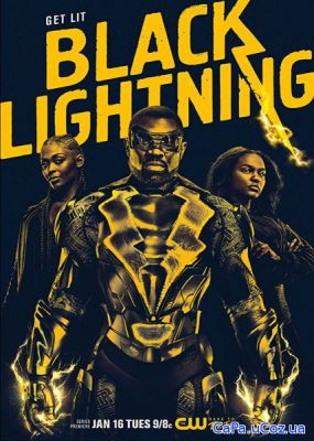 Черная молния / Black Lightning (1 сезон/2018/WEB-DL/720p/WEB-DLRip/HD
