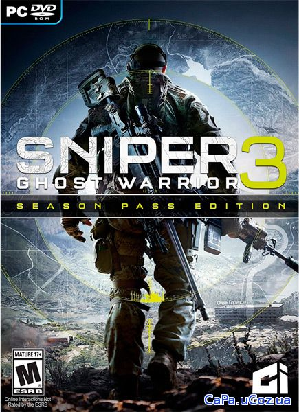 Sniper Ghost Warrior 3 (2017/RUS/ENG/MULTi9/RePack by xatab)