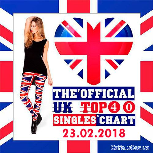 The Official UK Top 40 Singles Chart 23.02.2018 (2018)